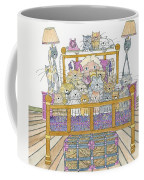 Cat Lady - In Bed Coffee Mug