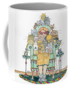 Cat Lady - In Chair Coffee Mug by Mag Pringle Gire