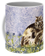 Cat Mint Wc On Paper Coffee Mug