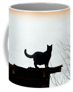 Cat On A Tin Roof 2 Coffee Mug