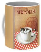 Cat Sits Inside A Coffee Cup Coffee Mug