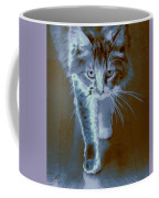 Cat Walking Coffee Mug