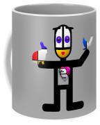 Cat With An Idea Coffee Mug