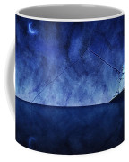 Catching The Moon Under Water Coffee Mug