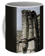 Cathedral Broken Arch At Glendalough Coffee Mug