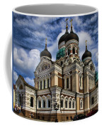 Cathedral In Tallinn Coffee Mug by David Smith