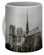 Cathedral Of Notre Dame De Paris Coffee Mug by Marco Oliveira
