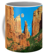 Cathedral Rock Moon Coffee Mug