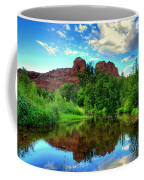 Cathedral Rocks At Red Rock Crossing Coffee Mug
