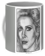 Catherine Deneuve In 1976 Coffee Mug by J McCombie