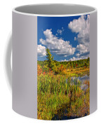 Cattails And Clouds Coffee Mug
