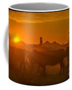 Cattle Drive 21 Coffee Mug