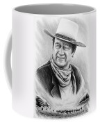 Cattle Drive Bw Version Coffee Mug by Andrew Read