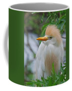 Cattle Egret Coffee Mug by Skip Willits