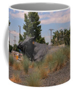 Cattle In Downtown Denver Coffee Mug