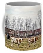 Cattle Train Coffee Mug