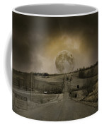 Caution Road Coffee Mug
