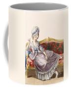 Cavaco A La Polonaise, Engraved Coffee Mug