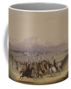 Cavalcade By The Snake Indians Coffee Mug
