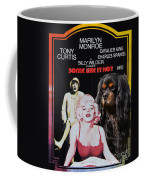 Cavalier King Charles Spaniel Art -some Like It Hot Movie Poster Coffee Mug