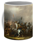Cavalry Attacked By Infantry Coffee Mug