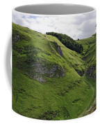 Cave Dale From Peveril Castle Coffee Mug