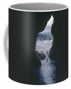 Mp-335-cave In Battle Rock Port Orford Coffee Mug