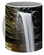 Cavern Cascade Coffee Mug by Frozen in Time Fine Art Photography