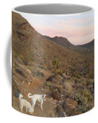 Ceaser, Mocha, And Chico In The Cerbat Mountains Coffee Mug