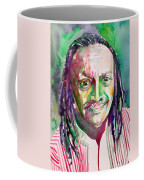 Cecil Taylor - Watercolor Portrait Coffee Mug
