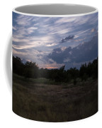 Cedar Park Texas Cedar And Clouds Sunset Coffee Mug