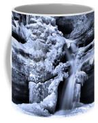 Cedar Falls In Winter Coffee Mug
