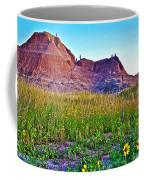 Cedar Pass At Dusk In Badlands National Park-south Dakota Coffee Mug