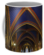 Ceiling Of The Sainte-chapelle  Paris Coffee Mug