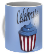 Celebrate The 4th / Blue Coffee Mug by Catherine Holman