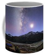 Celestial Sky With Milky Way Galaxy Coffee Mug