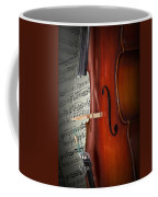 Cello Bridge And Beethoven Coffee Mug