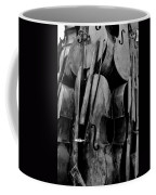 Cellos 6 Black And White Coffee Mug