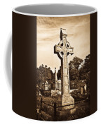 Celtic Cross In Sepia 1 Coffee Mug