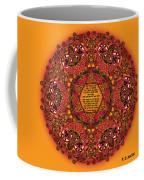 Celtic Fall Fairy Mandala Coffee Mug