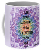 Celtic Yoga Sutra Coffee Mug