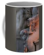 Cemetery Cherub - Hvar Croatia Coffee Mug