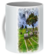 Cemetery Clouds Coffee Mug