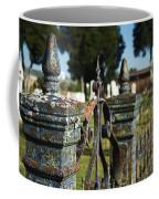 Cemetery Gate With Peeling Paint Coffee Mug