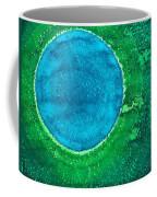 Cenote Original Painting Coffee Mug