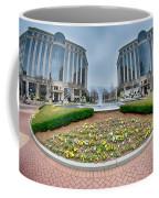 Center Fountain Piece In Piedmont Plaza Charlotte Nc Coffee Mug