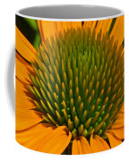 Center  Of Cone Flower Coffee Mug