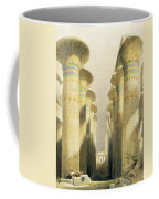 Central Avenue Of The Great Hall Of Columns Coffee Mug by David Roberts