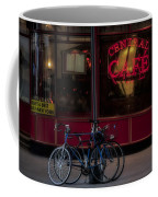 Central Cafe Bicycles Coffee Mug