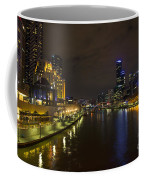 Central Melbourne Skyline In Australia Coffee Mug